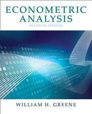NEW Econometric Analysis (7th Edition) by William H. Greene