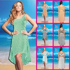 Cocktail Regular Machine Washable Striped Dresses for Women
