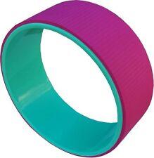 Yoga Wheel Pilates Exercise Fitness Equipment Circle Pink