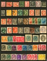 Canada #11 - #87 1858-1899 Mint & Mostly Used Queen Victoria 61 Items CV $800+