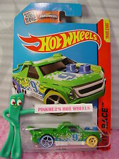 Case G/H 2015 i Hot Wheels FIG RIG #152∞Green/White;oh5 blue/yellow;9∞World Race
