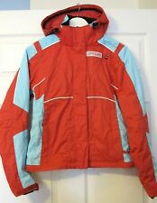 Spyder women jacket red/blue colour-size UK 4/ XXS