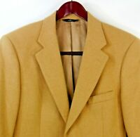 Brooks Brothers 346 Men's 100% Camelhair 2 Button Blazer Sport Coat Measures 42R