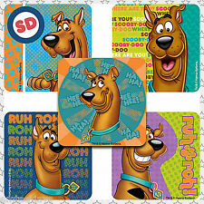 Scooby Doo Stickers x 5 - Party Supplies, Reward, Favours, Gifts, Birthday Fun