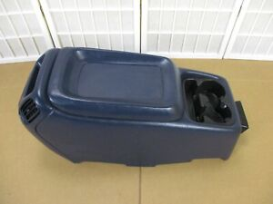 99-02 Chevy Sliverado Sierra BLUE Armrest Cup Holder Center Console 4 Cup Drink