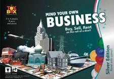 Mind Your Own Business Game Age 8+ Toys Box Silver Edition Coin Players 2-4
