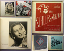 UFA 1936-1937 Durch Leistung zum Erfolg 1935 Filmplakate Kino Kunst Kultur xy