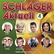 Canzonette attualmente 4 (DJ fregata/Helene Fischer/Andreas gabalier/adoro/+) 2 CD NUOVO