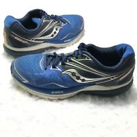 Saucony Ride 9 Everun Blue Sneakers Shoes Running Fitness Men's Size 7