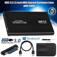 """USB 3.0 disco duro SATA de 2.5"""" pulgadas de unidad de disco duro Externo Gabinete Caja de disco móvil HD"""