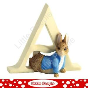 """Peter Rabbit Letters - Letter """"A"""" with Peter Rabbit"""