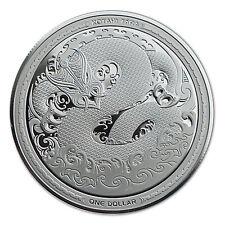 Chinesischer Kalender .999 Silbermünze Niue Island 2017 1$ Jahr Des Hahnes Gedenkmünzen