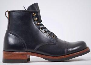 Julian Boots, Bowery Boot, Original 2007 Design, Horween Chrome Excel Black