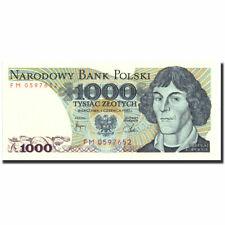[#570926] Banknot, Polska, 1000 Zlotych, 1982, 1982-06-01, KM:146a, UNC(63)