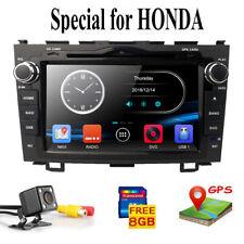Car Radio DVD Stereo 2Din Dash Kit Harness BT for 2007-2011 Honda CRV CR-V DAB+
