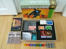Six Information Cards for 1999 Hasbro Game of ACQUIRE 6 Set of