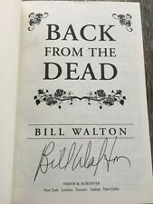 SIGNED - BACK FROM THE DEAD by Bill Walton (2016, Hardcover)