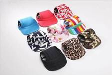 Dog Baseball Hat Summer Canvas Cap Only For Small Pet Dog Outdoor Accessories