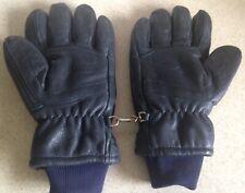 Vintage Aris Wonderlite Deerskin Leather Warm Gloves Size Large