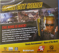 Duke Nukem Forever Mac OS 10.6.8 and 10.7 Intel. shooter game New & sealed.