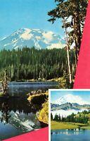Postcard Mount Rainier near Seattle Washington