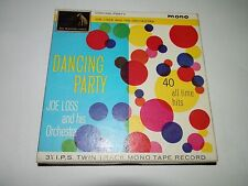 Joe Loss Dancing Party 3 1/4 I.P.S Twin Track Mono Tape Record