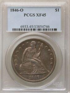 1846-O $1 XF45 PCGS