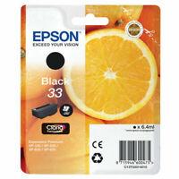 Epson 1x Genuine 33 Black Ink Cartridge T3331 ***BRAND NEW***