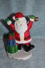 Christmas Santa Clause Figurine, Ho-Ho-Ho