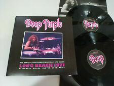 "Deep Purple Long Beach 1971 - German Edition 2015 - 2 x LP 12"" Vinilo VG/VG"