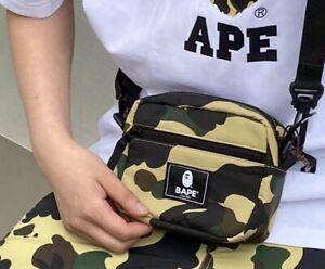 BAPE Cordura 1st Camo Mini Shoulder Bag (free fast shipping)