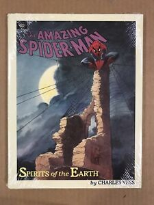 Spider-Man Spirits of the Earth HC Charles Vess (Marvel 1990) Sealed NM