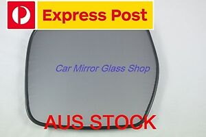 LEFT PASSENGER SIDE MIRROR GLASS FOR TOYOTA HIACE 1995 - 2003
