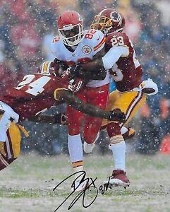 Dwayne Bowe signed autographed Kansas City Chiefs football 8x10 photo COA proof