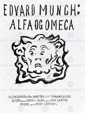 PAINTING MUNCH ALFA OG OMEGA 12 X 16 INCH ART PRINT POSTER PICTURE HP2404