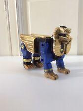☺ Robot Bandai Power Rangers Deluxe Megazord Zeo Blue Sphinx