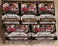 2020 Panini Prizm NFL Football Blaster Box CARDS LOT OF 5 NEW SEALED EXCLUSIVE