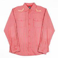 VGC Vintage BLEND Striped Cowboy Shirt   Men's M   Retro Stripe Western