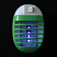 Electronic Mosquito Killer Trap Moth Fly Wasp Led Night Lamp Pest Zapper US Plug