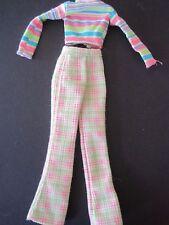Cool Sitter Teen Skipper Babysitter Doll Clothes Plaid Pants  Stripe Shirt