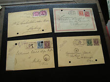 BELGIQUE - 4 cartes 1926/1927 (cy72) belgium