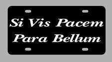 Car tag Para Bellum license plate Si Vis Pacem Para Bellum Second Amendment 2nd