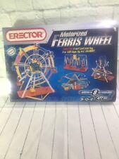 Erector Motorized Ferris Wheel Set 477 Pieces #8257 New Building Set Great Gift!