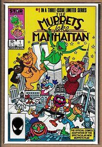 STAR - THE MUPPETS TAKE MANHATTAN _  # 1-3 _ 1984 _ COMPLETE SET _ JIM HENSON _