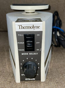 Thermolyne Variable Speed Maxi Mix II Vortex Mixer Type 37600 Auto/Touch TESTED