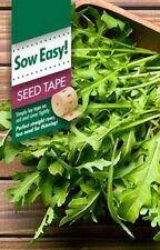 Rocket Seed Tape Seed Tape - Quick and easy to grow, widely adaptable