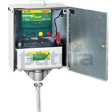 PATURA P 4600 Weidezaungerät  12 + 230 Volt mit Elektro Sicherheitsbox Tragebox