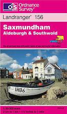 Saxmundham, Aldeburgh and Southwold (Landranger Maps) Ordnance Survey Good Book