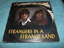 SALVATION AIR FORCE - STRANGERS IN A STRANGE LAND 1977 LP RECORD ALBUM MYRRH