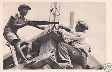Vintage Postcard Jewish Builders Israel Nr